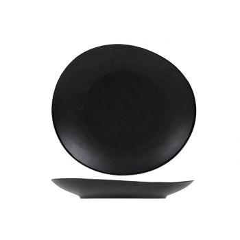 Cosy & Trendy Vongola Dessertbord Zwart 22,2x20,3cm