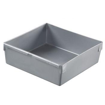 Curver Ladebakje Zilver 15x15cm
