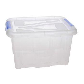 Hega Hogar Textielbox Box Transparant 30l 48x38x25,