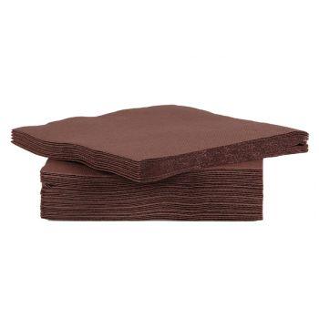 Cosy & Trendy For Professionals Ct Prof Serviet Tt S40 25x25cm Chocolat