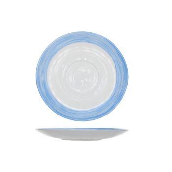 Arcoroc Brush Ondertas Blauw 14cm