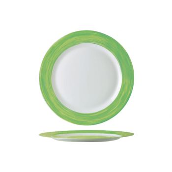 Arcoroc Brush Dessertbord Groen 19cm