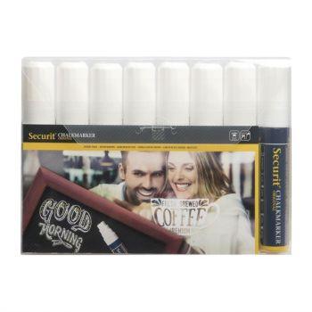 Securit krijtstiften 15mm wit