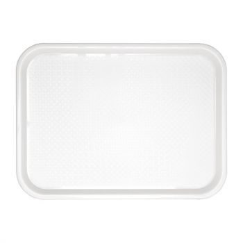 Kristallon dienblad wit 41.5x30.5cm
