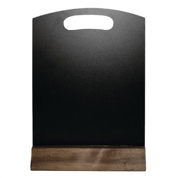 Olympia tafel krijtbordje 31.5x21.2cm