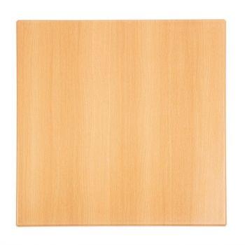 Bolero vierkant tafelblad beuken 60cm