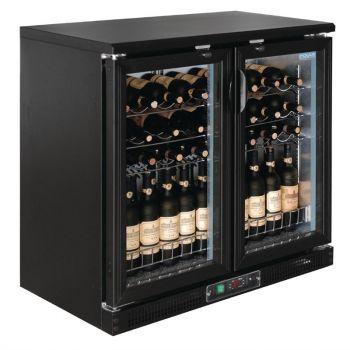 Polar G-serie horizontale wijnkoeling met klapdeuren