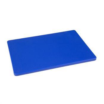 Hygiplas LDPE snijplank blauw 30.5x22.9x1.2cm