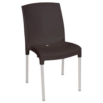 Bolero stapelbare zwarte stoelen