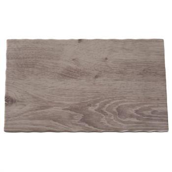 APS melamine buffetschaal met houteffect GN 1/4