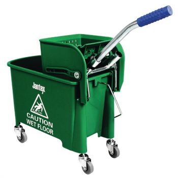 Jantex rolemmer en mop groen 20L