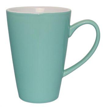 Olympia Café latte bekers aqua 34cl