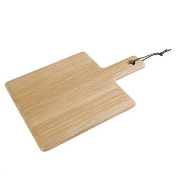 Olympia eikenhouten plank 23x23cm