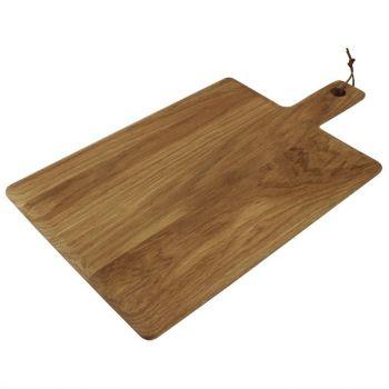 Olympia eiken rechthoekige plank 35x26cm