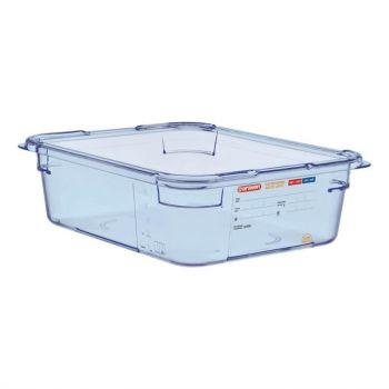 Araven ABS blauwe GN 1/2 voedseldoos 10cm diep