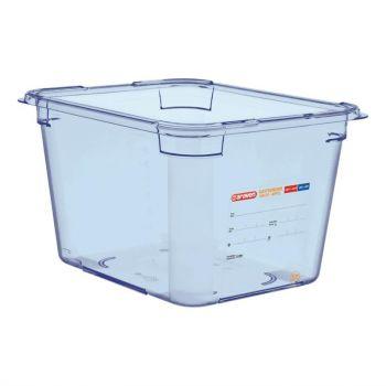 Araven ABS blauwe GN 1/2 voedseldoos 20cm diep