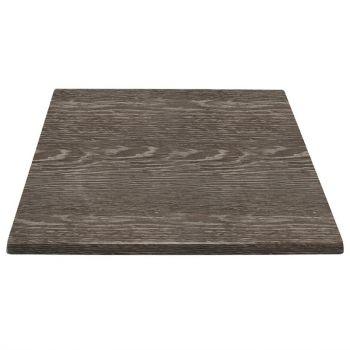 Bolero vierkant tafelblad wengé 70cm