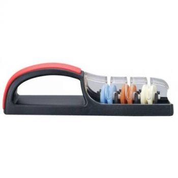 Global 550BR Minosharp Plus3 Messenslijper zwart/rood