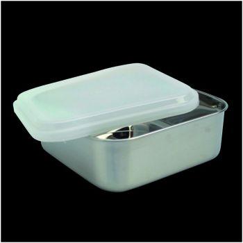 Kitchen vierkante voorraaddoos met plastiek deksel 65030 11,5cm
