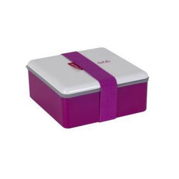Omami roze lunchbox 15x15x6,7cm