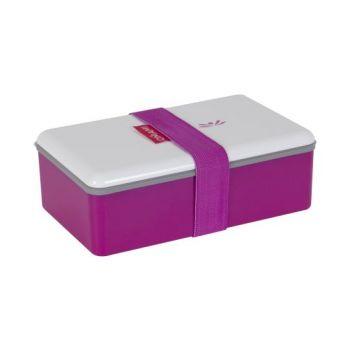 Omami roze lunchbox 20x12x6,7cm
