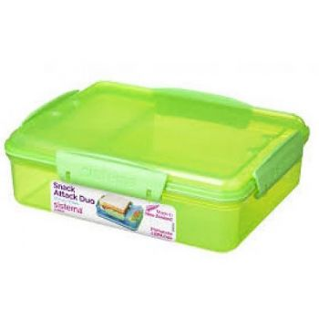 Sistema Lunch 1482 Snack Attack Duo 975ml Groen