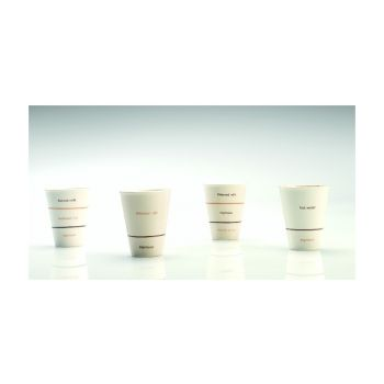 Thai Ceramic SNMY001 Beker Klein 'Caffe Mocha'