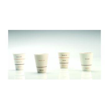 Thai Ceramic SNMZ001 Beker Klein 'Caffe Americano'