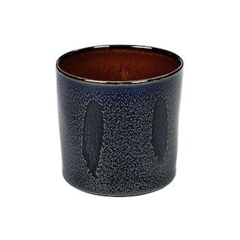 Anita Le Grelle B5116108 Terres De Rêves Dark Blue/Rust Beker Cylinder Hoog