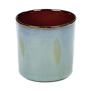 Anita Le Grelle B5116112 Terres De Rêves Smokey Blue/Rust Beker Cylinder Hoog