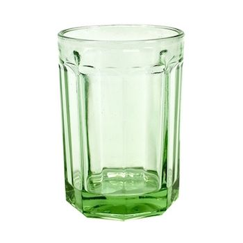 Paola Navone B0816769 Fish&Fish Drinkglas Large Transparant Groen 40CL