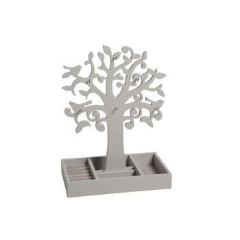 Juwelenboom 792842 grijs hout