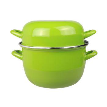 Cosy & trendy for professionals horeca mosselpot 2kg groen nieuw 3,250l