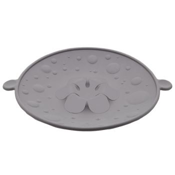Cosy & trendy anti-overkookdeksel grey d31cm silicone