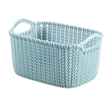 Curver Knit Mand Misty Blue 3L