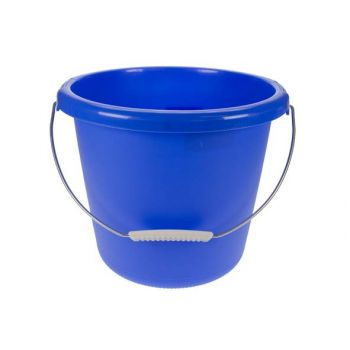 Emmer 10l blauw d30xh25cm