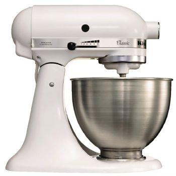 KitchenAid K45 professionele mixer wit 4.28L