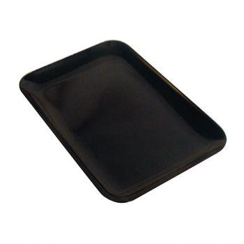Dalebrook rechthoekige melamine schaal zwart 20x29cm
