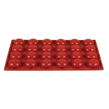 Pavoni Formaflex siliconen bakvorm 24 pomponettes