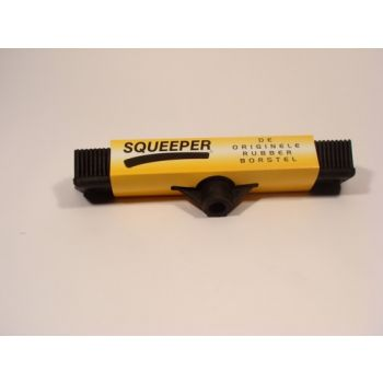 Rubber Borstel + Steel Squeeper Axy