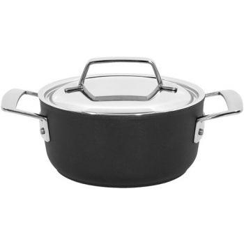 Alu Pro 5 Kookpot 16 Cm Met Deksel Inox Demeyere 13316