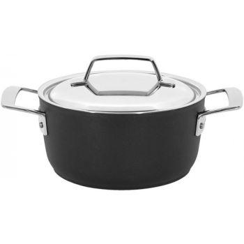 Alu Pro 5 Kookpot 18 Cm Met Deksel Inox Demeyere 13318