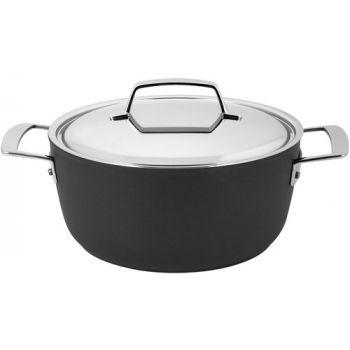 Alu Pro 5  Kookpot 24 Cm Met Deksel Inox Demeyere 13324