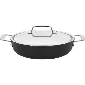 Alu Pro 5 Kookpot 28 Cm Met Deksel Inox Laag  Demeyere 13328 A