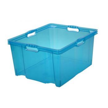 Multibox Xxl  52x43x26 - 44 L Franz Blauw Keeeper 10275
