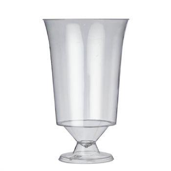 Plastico disposable wijnglazen 18cl