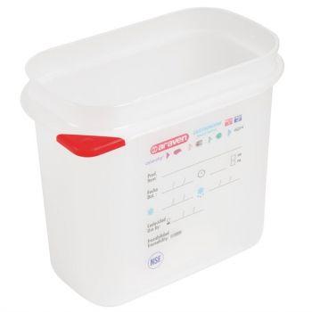 Araven GN1/9 voedseldoos met deksel 1.5L