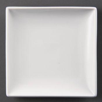 Olympia Whiteware vierkante borden 18cm