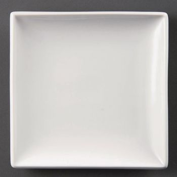 Olympia Whiteware vierkante borden 29.5cm